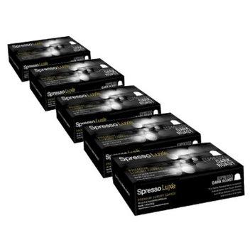 Spresso Luxe Dark Roast Coffee Capsules 50 ct