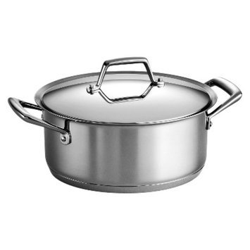 Tramontina Gourmet Prima 5 Quart Tri-Ply Base Dutch Oven with Lid