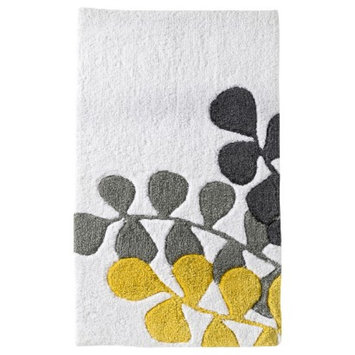 Room Essentials Vine Bath Rug - Coral (20x34)