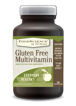 FoodScience of Vermont Gluten Free Multivitamin, 90 Capsules