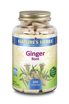 Nature's Herbs Ginger Root 100 Capsules