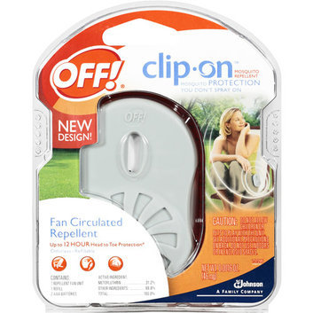 OFF! Mosquito Repellent Clip On Fan