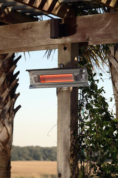 Well Traveled Import Wall Mounted Infrared Patio Heater Well Traveled Living FireSense 02110