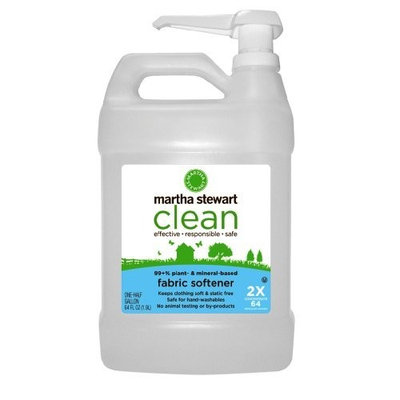 Martha Stewart Clean Fabric Softener, 64- Ounce Bottles (Pack of 6)