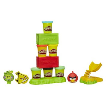 Play Doh Play-Doh Angry Birds Build n Smash Game