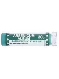 Ollois Homeopathic Medicine - Arsenicum Album 30 C - 80 Pellets