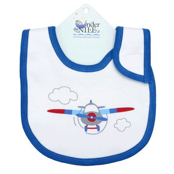 Under The Nile Organics Under the Nile Airplane Bib- Up, Up, & Away