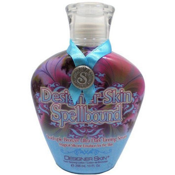 Designer Skin Spellbound Tanning Lotion Quadruple Extra Dark Tanning Serum 10 oz.