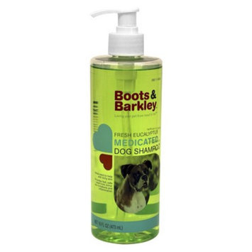 Boots & Barkley Fresh Eucalyptus Medicated Dog Shampoo 16 oz