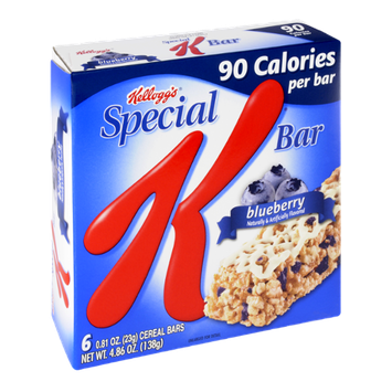 Kellogg's Special K 90 Calories Blueberry Cereal Bars