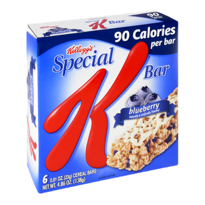 Special K® Kellogg's Calories Blueberry Cereal Bars