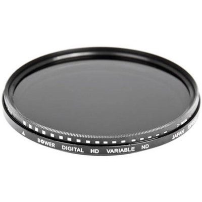 Bower 77mm Variable Neutral Density (ND) Filter - 2 to 8 Stops