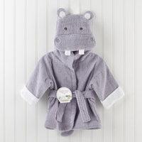 Baby Aspen 'Hug a Lot Amus' Hooded Robe (Baby)