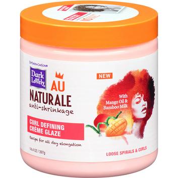 Dark and Lovely Au Naturale Anti-Shrinkage Curl Defining Creme Glaze