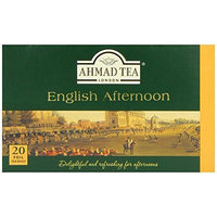 Ahmad Tea English Afternoon Tea, 20-Count Boxes (Pack of 6)