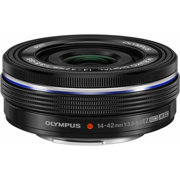 Olympus M.Zuiko 14-42mm f/3.5-5.6 EZ Digital Zoom Lens (Black)