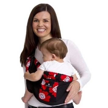 Balboa Baby Four Position Adjustable Sling Carrier - Red Poppy Trim