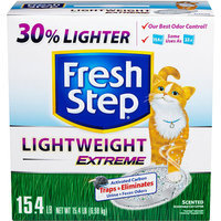 Fresh Step Lightweight Extreme Cat Litter 15.4 lb