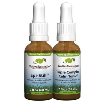 Native Remedies Native Remedies NeuroCalm ComboPack - Triple Complex Calm Tonic + Epi-Still