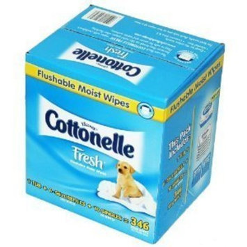 Kimberly-clark Cottonelle Flushable Moist Wipes Fresh 346 ct