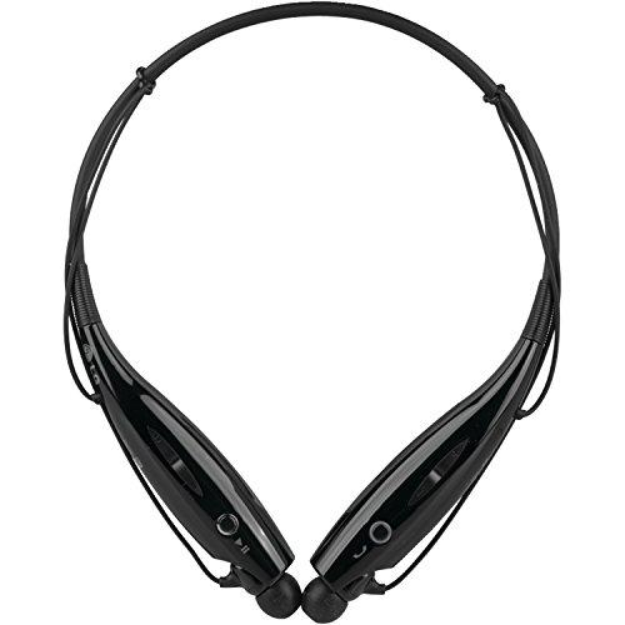 LG Electronics Tone+ HBS-730 Bluetooth Headset - Retail Packaging - Black