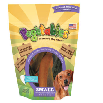 Pegetables Nature's Dog Chews Dental Dog Chew