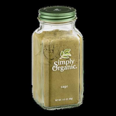 Simply Organic Sage