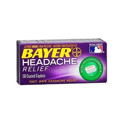 Bayer Headache Relief Coated Caplets