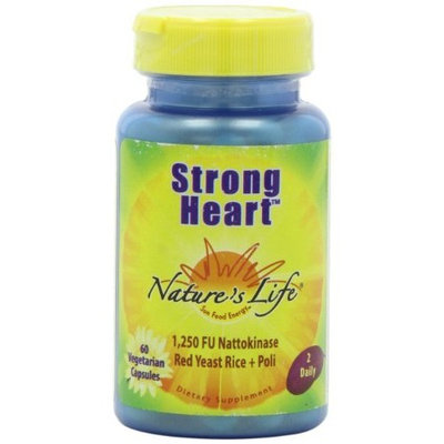 Nature's Life Strong Heart Veg Capsules, 60 Count