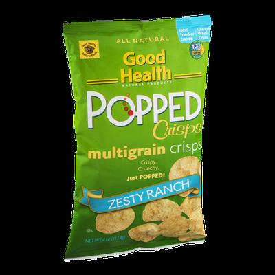 Good Health Popped Multigrain Crisps Zesty Ranch