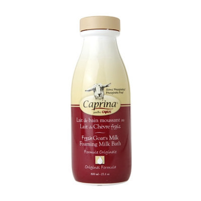 Caprina by Canus Foaming Milk Bath, Original, 27.1 oz