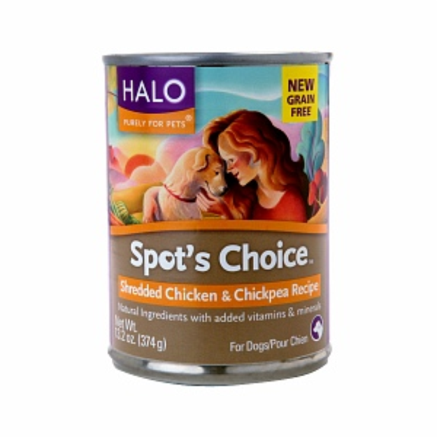 Halo, Purely For Pets Spot's Choice for Dogs