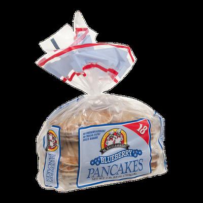 De Wafelbakkers Pancakes Blueberry - 18 CT