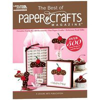 Leisure Arts The Best of Paper Crafts Magazine -Paperback