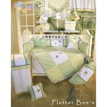 Brandee Danielle Flutter Bee Fitted Crib Sheet