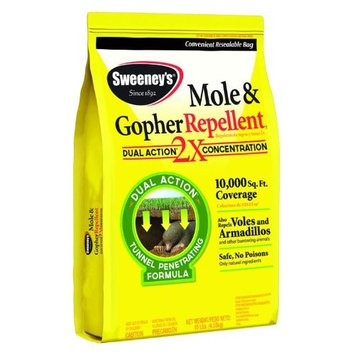 Senoret Sweeney'S 7002 Mole and Gopher Repellent, Granular, 10-Pound (not avalibale in NM) (Discontinued by Manufacturer)