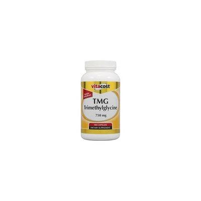 Vitacost Brand Vitacost TMG - Trimethylglycine (Betaine Anhydrous) -- 750 mg - 180 Capsules