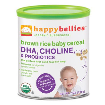 Happy Bellies Brown Rice Cereal with DHA
