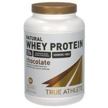 True Athlete - Natural Whey Protein - Chocolate, 1.5 lb powder