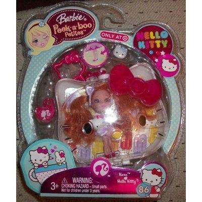 Barbie Peek-A-Boo Petites Hello Kitty Kara #86