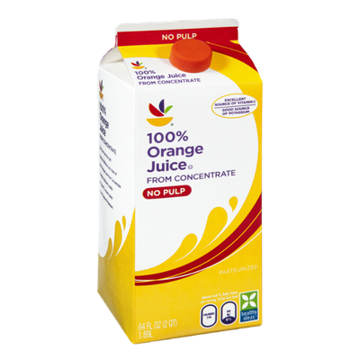Ahold 100% No Pulp Orange Juice From Concentrate