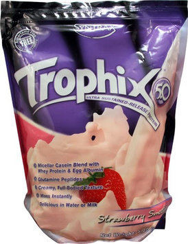 Syntrax - Trophix 5.0 Micellar Casein Blend Strawberry Smoothie - 5 lbs.