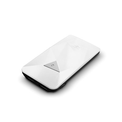 Vantec VAN-350BB-WH Power Gem 3500 mAh Portable Battery White