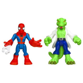 Spiderman Marvel Spider-Man Adventures Playskool Heroes Spider-Man and Lizard -