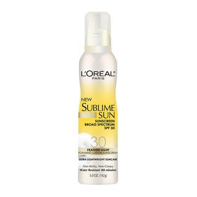L'Oréal Paris Sublime Sun Foaming Lotion Sunscreen
