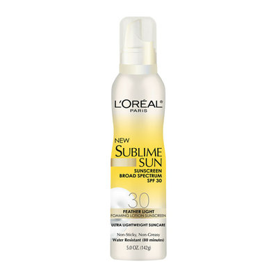L'Oréal Paris Sublime Sun Foaming Lotion Sunscreen