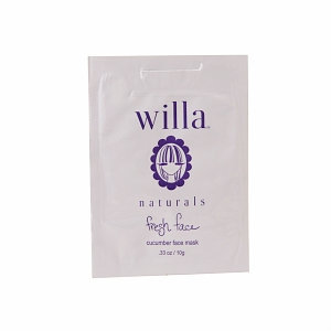 Willa Fresh Face Cucumber Face Mask