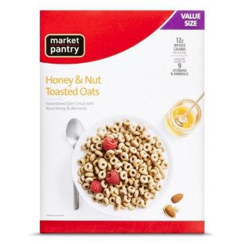 market pantry Market Pantry Cereal Honey Nut Toasted Oat 21.6oz