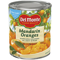 Del Monte® Whole Segments In Light Syrup Mandarin Oranges