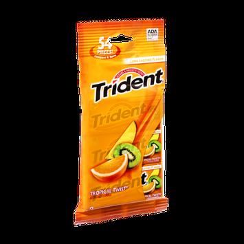 Trident Tropical Twist Sugar Free Gum